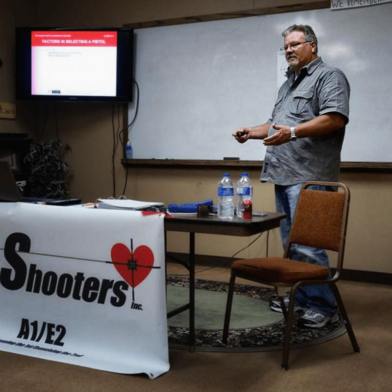 Brad Leamy teaching the Arkansas Conceal/Carry Class